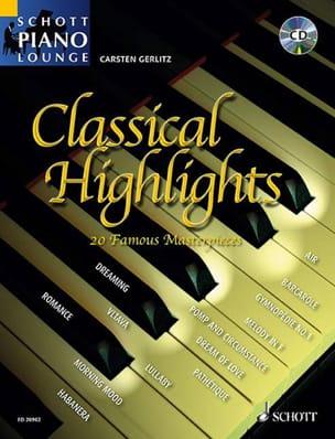 Classical Highlights Carsten Gerlitz Partition Piano - laflutedepan