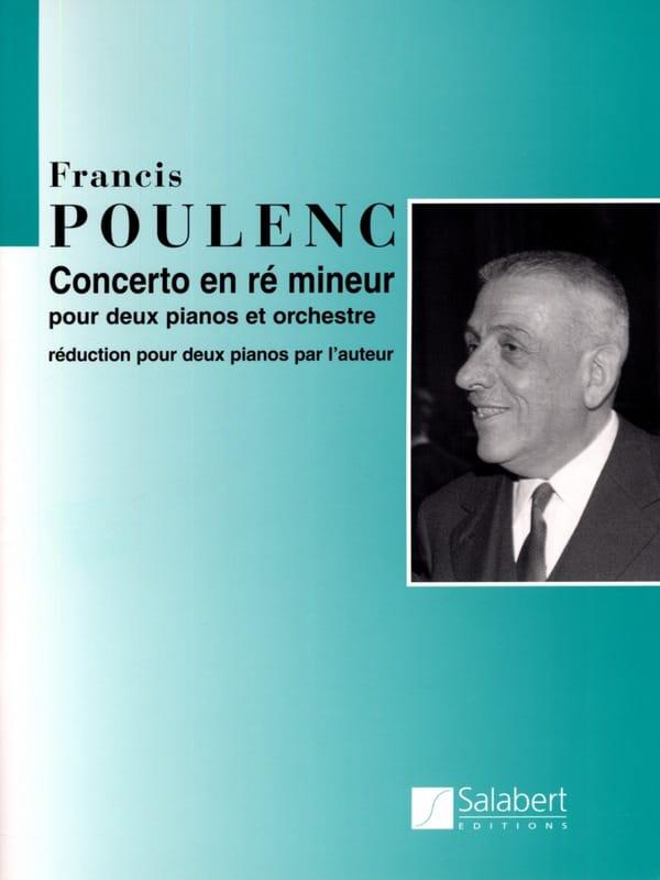 Concerto Pour 2 Pianos En Ré Mineur - POULENC - laflutedepan.com