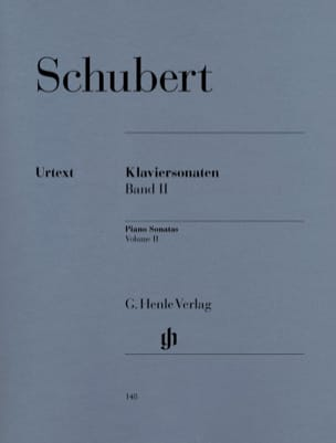 SCHUBERT - Piano Sonatas - Volume 2 - Partition - di-arezzo.co.uk