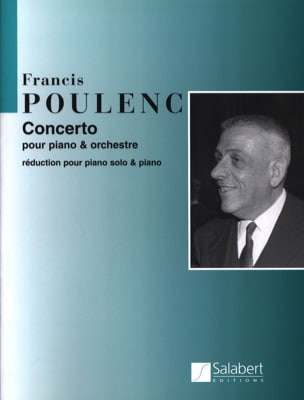 Francis Poulenc - Concerto per pianoforte - Partition - di-arezzo.it