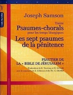 13 Psaumes-Chorals / 7 Psaumes de la Pénitence laflutedepan