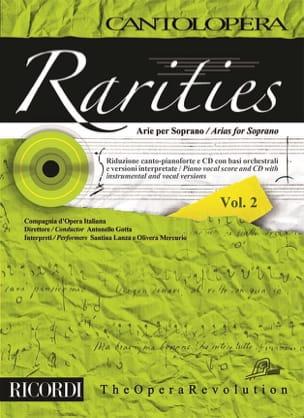 Rarities. Arie per soprano Volume 2 Partition Opéras - laflutedepan