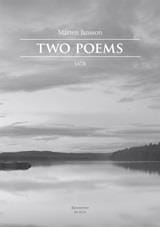 Two Poems - Marten Jansson - Partition - Chœur - laflutedepan.com