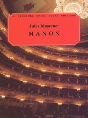 Manon - MASSENET - Partition - Opéras - laflutedepan.com