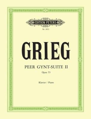 Peer Gynt Suite N°2 Opus 55 GRIEG Partition Piano - laflutedepan