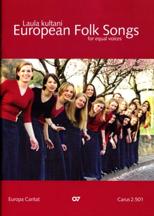European Folk Songs. Voix Egales Partition Chœur - laflutedepan