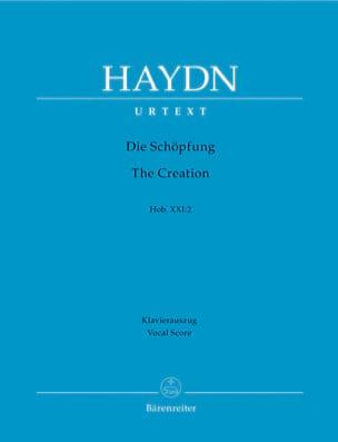 Die Schöpfung - La Création - Hob 21-2 HAYDN Partition laflutedepan