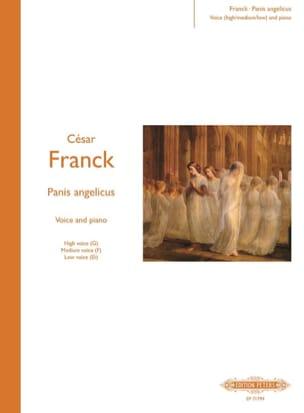 Panis Angelicus FRANCK Partition Mélodies - laflutedepan