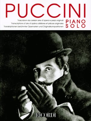 Piano solo PUCCINI Partition Piano - laflutedepan