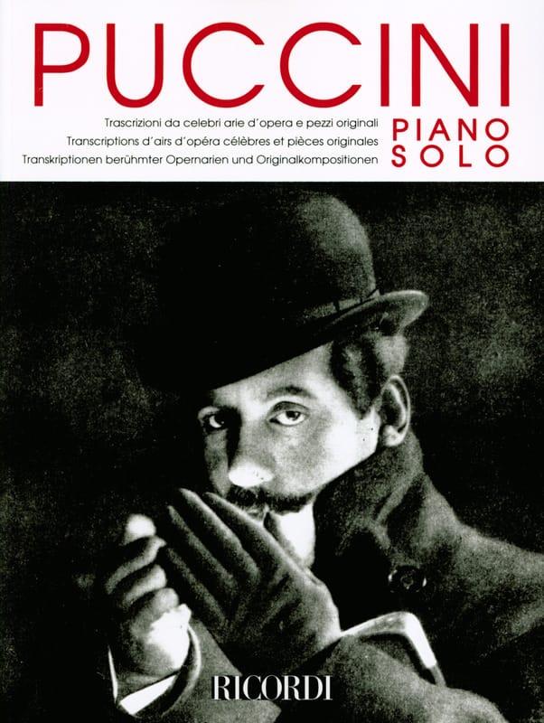 Piano solo - PUCCINI - Partition - Piano - laflutedepan.com