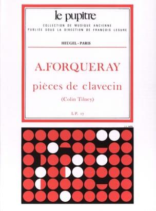 Pièces De Clavecin Forqueray Antoine / Tilney Colin laflutedepan