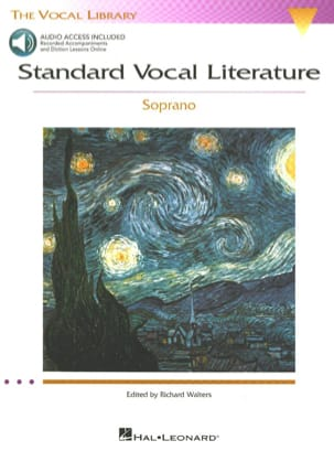 Standard Vocal Literature. Soprano Partition Recueils - laflutedepan