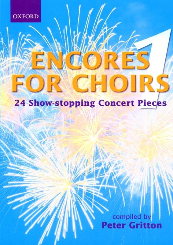 Encores For Choirs - Partition - Chœur - laflutedepan.com