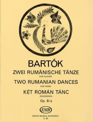 2 Danses Roumaines Opus 8/A BARTOK Partition Piano - laflutedepan