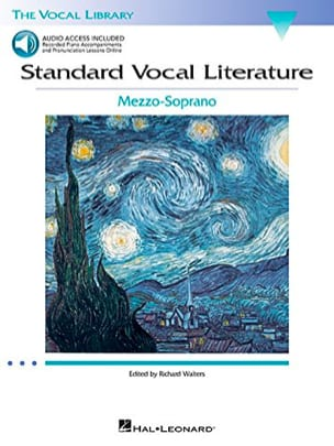 Standard Vocal Literature. Mezzo Partition Recueils - laflutedepan