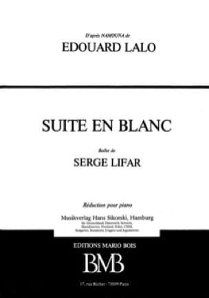 Suite en Blanc - LALO - Partition - Piano - laflutedepan.com