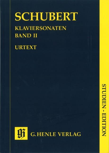 Sonates Complètes - Volume 2 - SCHUBERT - Partition - laflutedepan.com