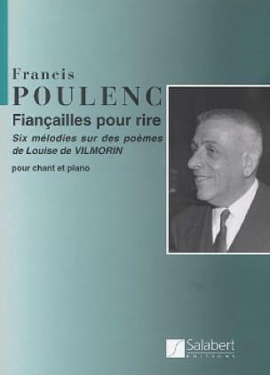 Fiançailles Pour Rire. - POULENC - Partition - laflutedepan.com