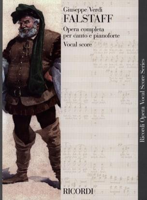 Falstaff VERDI Partition Opéras - laflutedepan