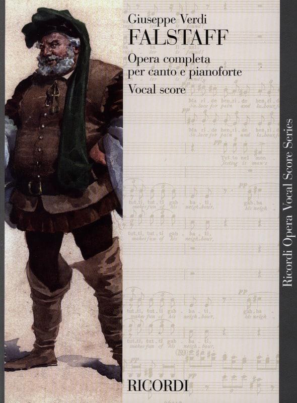 Falstaff - VERDI - Partition - Opéras - laflutedepan.com