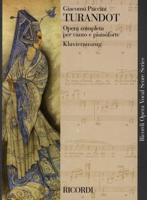 Giacomo Puccini - Turandot - Partition - di-arezzo.co.uk