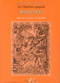 Romances des Vihuelistes Espagnols Partition Guitare - laflutedepan
