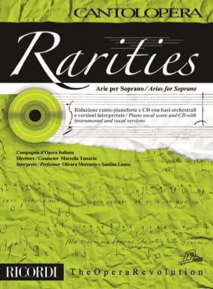 Rarities. Arie per soprano Volume 1 Partition laflutedepan