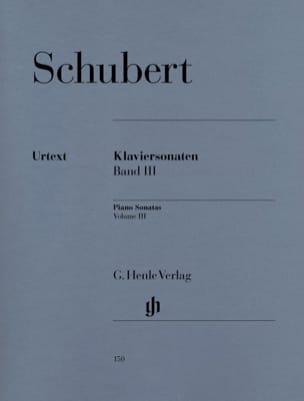 Sonates Pour Piano - Volume 3 SCHUBERT Partition Piano - laflutedepan