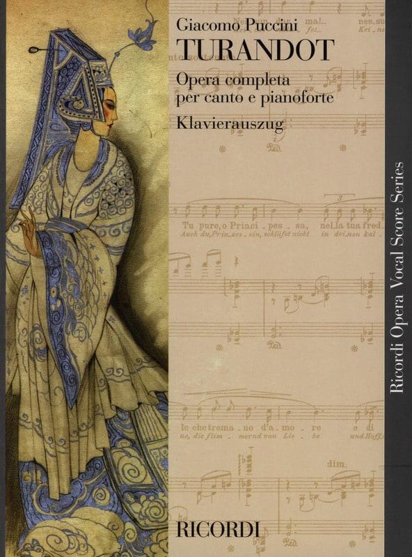 Turandot - PUCCINI - Partition - Opéras - laflutedepan.com