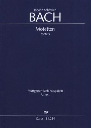 Motets BACH Partition Chœur - laflutedepan