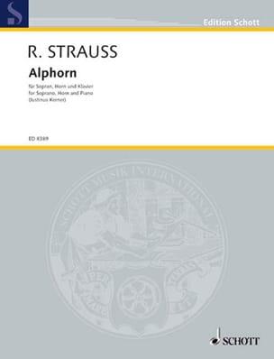 Alphorn Richard Strauss Partition Cor - laflutedepan