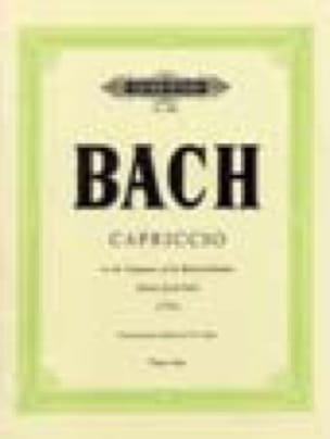 Capriccio B BWV 992. - BACH - Partition - Piano - laflutedepan.com