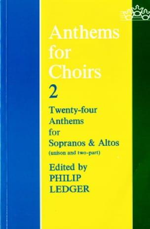 Anthems For Choirs Volume 2 - Partition - Chœur - laflutedepan.com