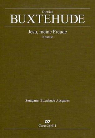 Jesu, Meine Freude Buxwv 60. BUXTEHUDE Partition Chœur - laflutedepan