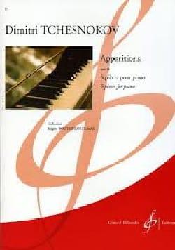 Apparitions Op. 26 Dimitri Tchesnokov Partition Piano - laflutedepan