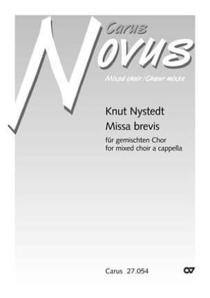 Missa Brevis op. 102 Knut Nystedt Partition Chœur - laflutedepan