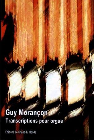 Transcriptions Pour Orgue Guy Morançon Partition Orgue - laflutedepan