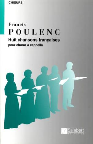 8 Chansons Françaises POULENC Partition Chœur - laflutedepan