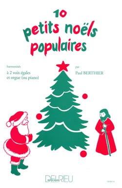 10 Petits Noëls Populaires Partition Chœur - laflutedepan