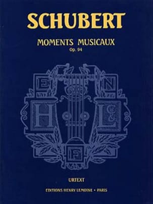 Moments Musicaux Opus 94 SCHUBERT Partition Piano - laflutedepan