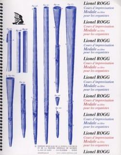 Cours d' Improvisation Modale - Volume 2 Lionel Rogg laflutedepan