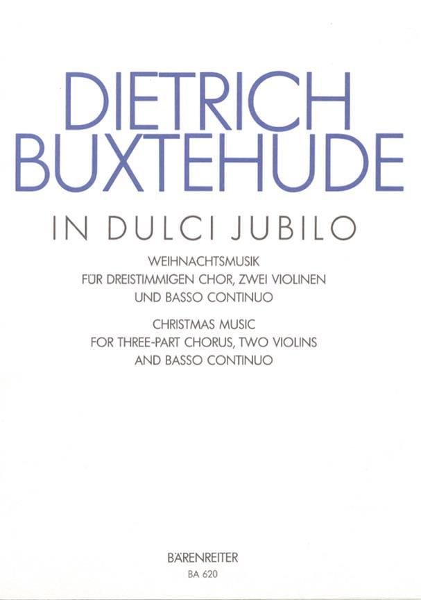 In Dulci Jubilo Buxwv 52 - BUXTEHUDE - Partition - laflutedepan.com