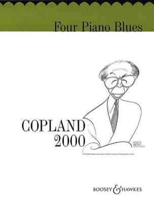 4 Piano Blues COPLAND Partition Piano - laflutedepan