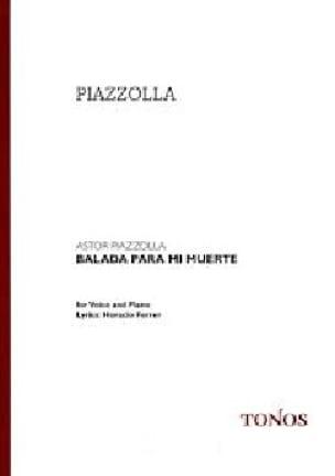 Balada para mi muerte - Astor Piazzolla - Partition - laflutedepan.com