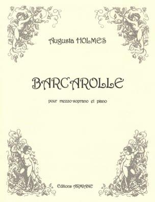 Barcarolle Augusta Holmès Partition Mélodies - laflutedepan