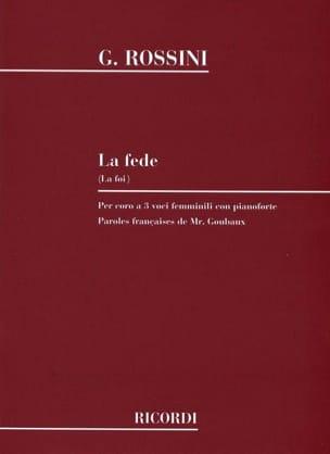 Gioachino Rossini - La Fede - Partition - di-arezzo.com