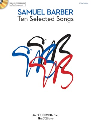 10 Selected Songs. Voix Grave BARBER Partition Mélodies - laflutedepan
