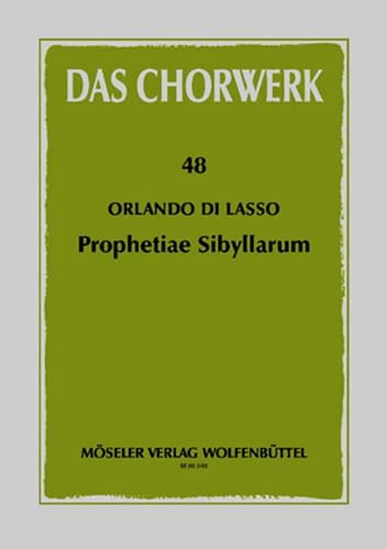 Prophetiae Sibyllarum - Orlando di Lassus - laflutedepan.com