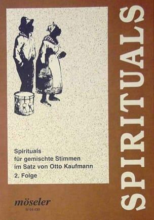 Spirituals Volume 2 Partition Chœur - laflutedepan