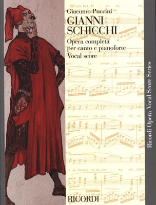 Giacomo Puccini - Gianni Schicchi - Partition - di-arezzo.co.uk